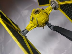 Mining Guild TIE Fighter - Das fertige Modell