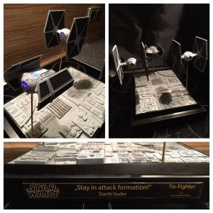 Tie Fighter Diorama - Stay in Attack Formation
